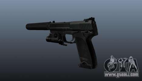 HK USP 45 pistol for GTA 4 second screenshot