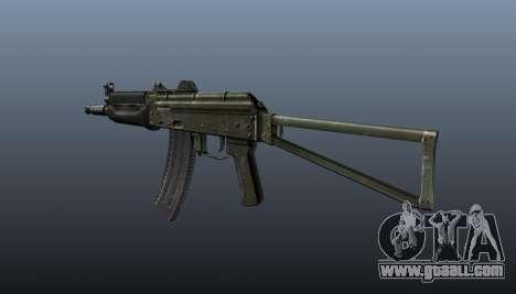 Automatic AKS74U v1 for GTA 4 second screenshot