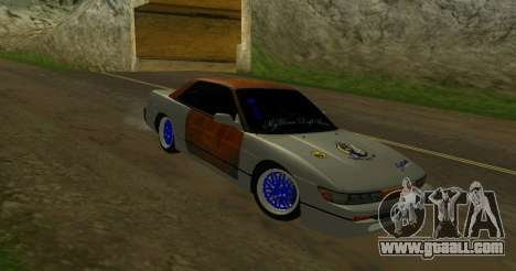 Nissan Silvia S13 MGDT for GTA San Andreas back left view