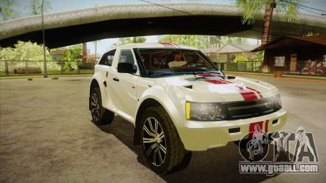 Bowler EXR S 2012 HQLM for GTA San Andreas back view