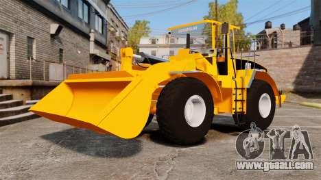 Front wheel loader Caterpillar 966 g for GTA 4 inner view