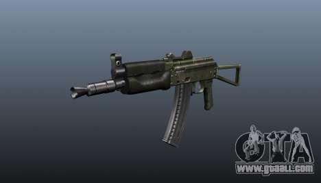 Automatic AKS74U v1 for GTA 4