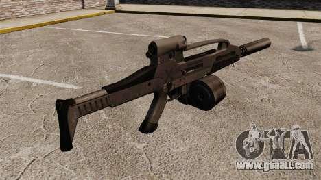 HK XM8 assault rifle v2 for GTA 4 second screenshot