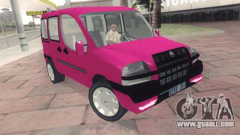Fiat Doblo for GTA San Andreas