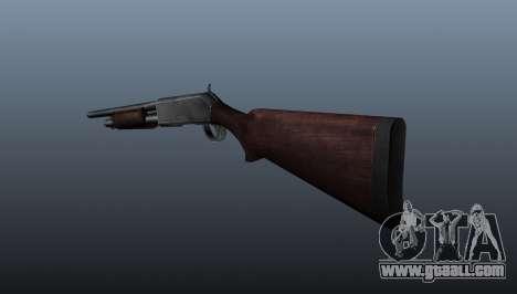Pump-action shotgun for GTA 4 second screenshot
