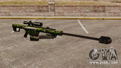 The Barrett M82 sniper rifle v4 for GTA 4