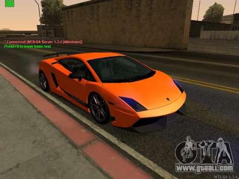 Lamborghini Gallardo LP560-4 SL UGR Altecho for GTA San Andreas