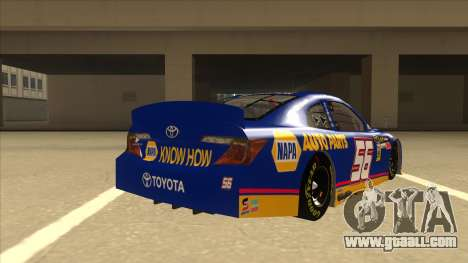 Toyota Camry NASCAR No. 56 NAPA for GTA San Andreas right view