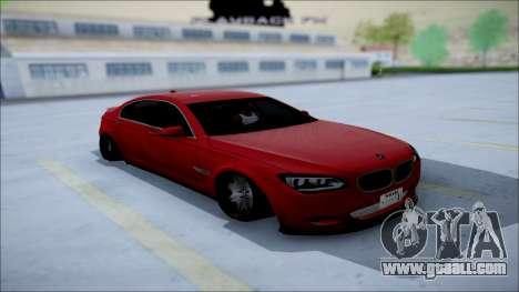 BMW 750 Li Vip Style for GTA San Andreas back view