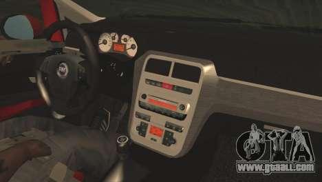 Fiat Grande Punto for GTA San Andreas right view