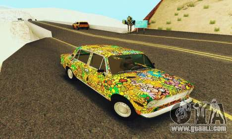 VAZ 21011 Hippie for GTA San Andreas back left view
