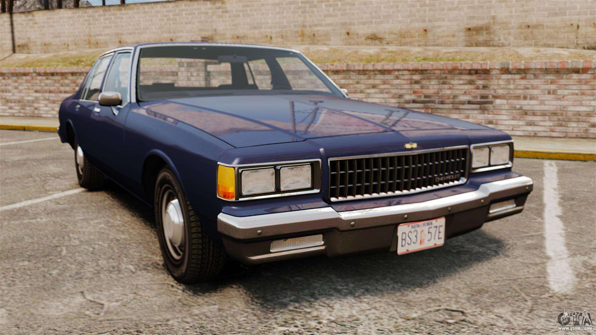 Chevrolet Caprice 1986 For Gta 4