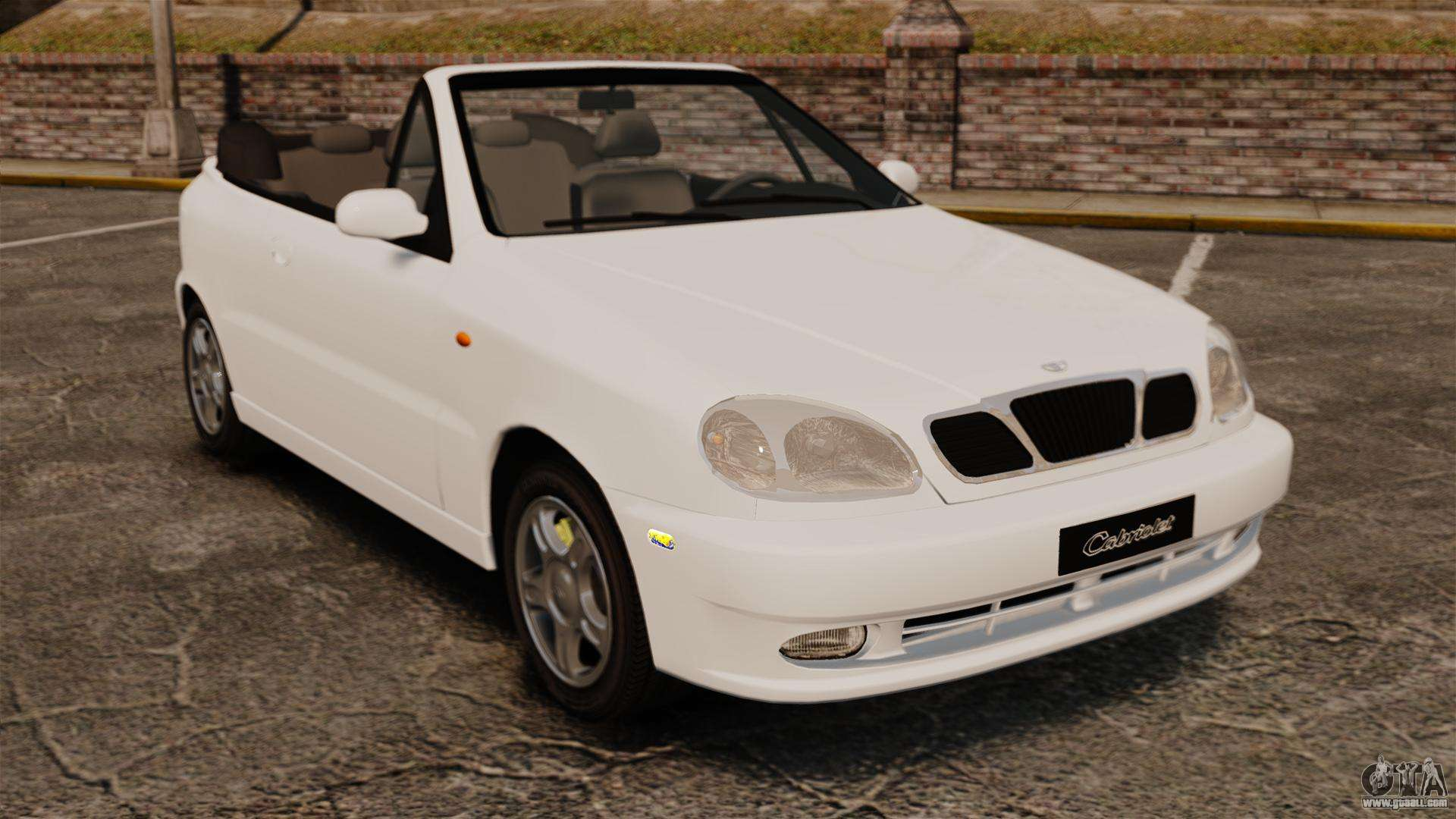 daewoo lanos 1997 cabriolet concept for gta 4. Black Bedroom Furniture Sets. Home Design Ideas