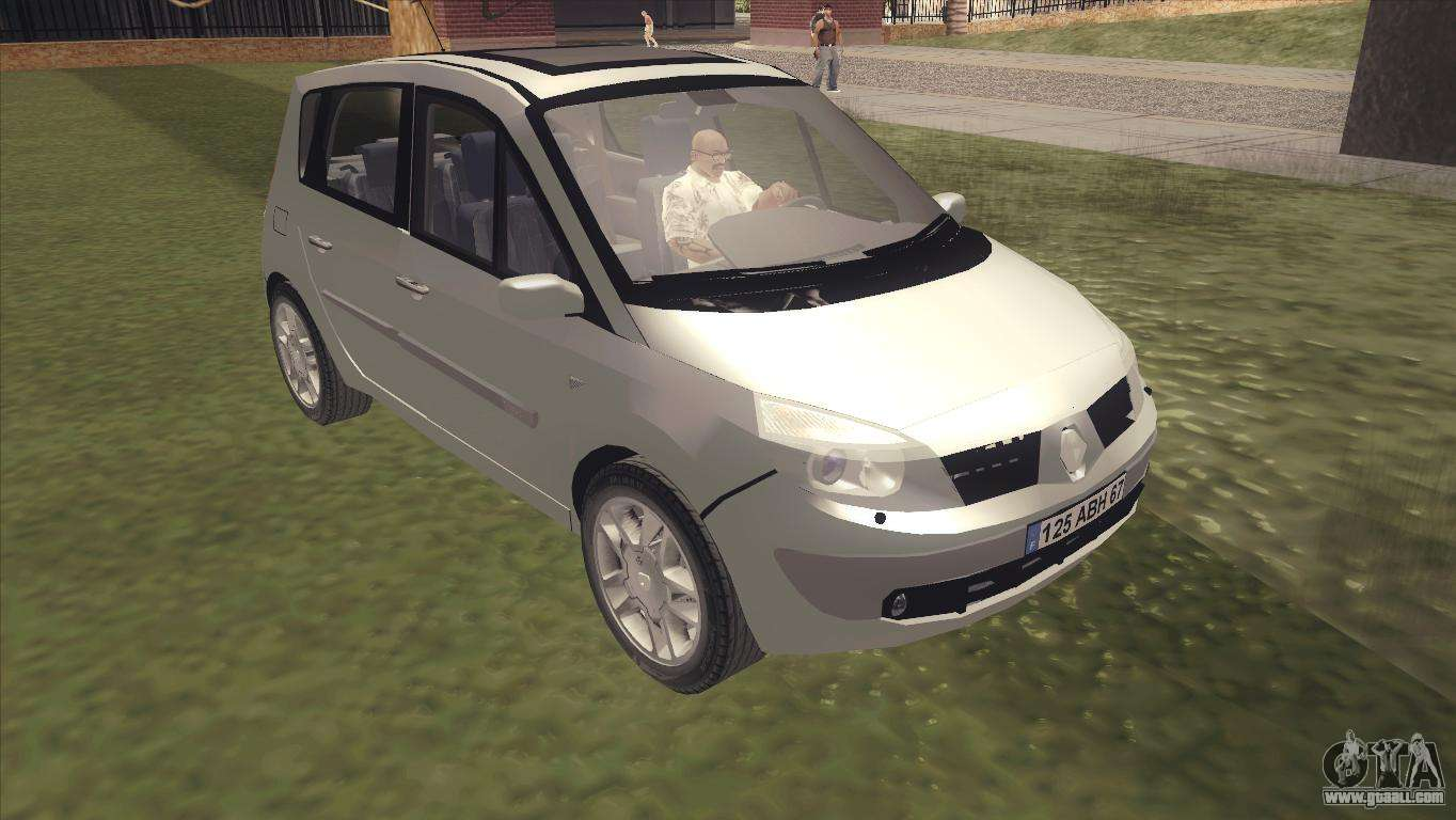 renault scenic 2 for gta san andreas. Black Bedroom Furniture Sets. Home Design Ideas