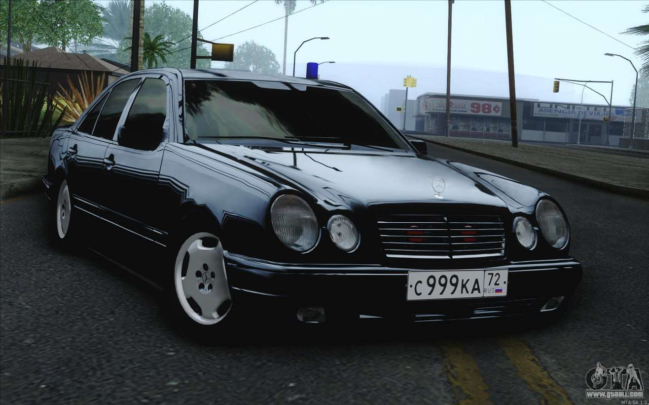 Mercedes benz e420 for gta san andreas for Mercedes benz gta