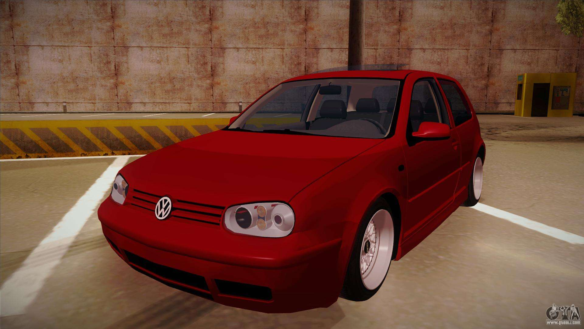 volkswagen golf mk4 euro for gta san andreas. Black Bedroom Furniture Sets. Home Design Ideas