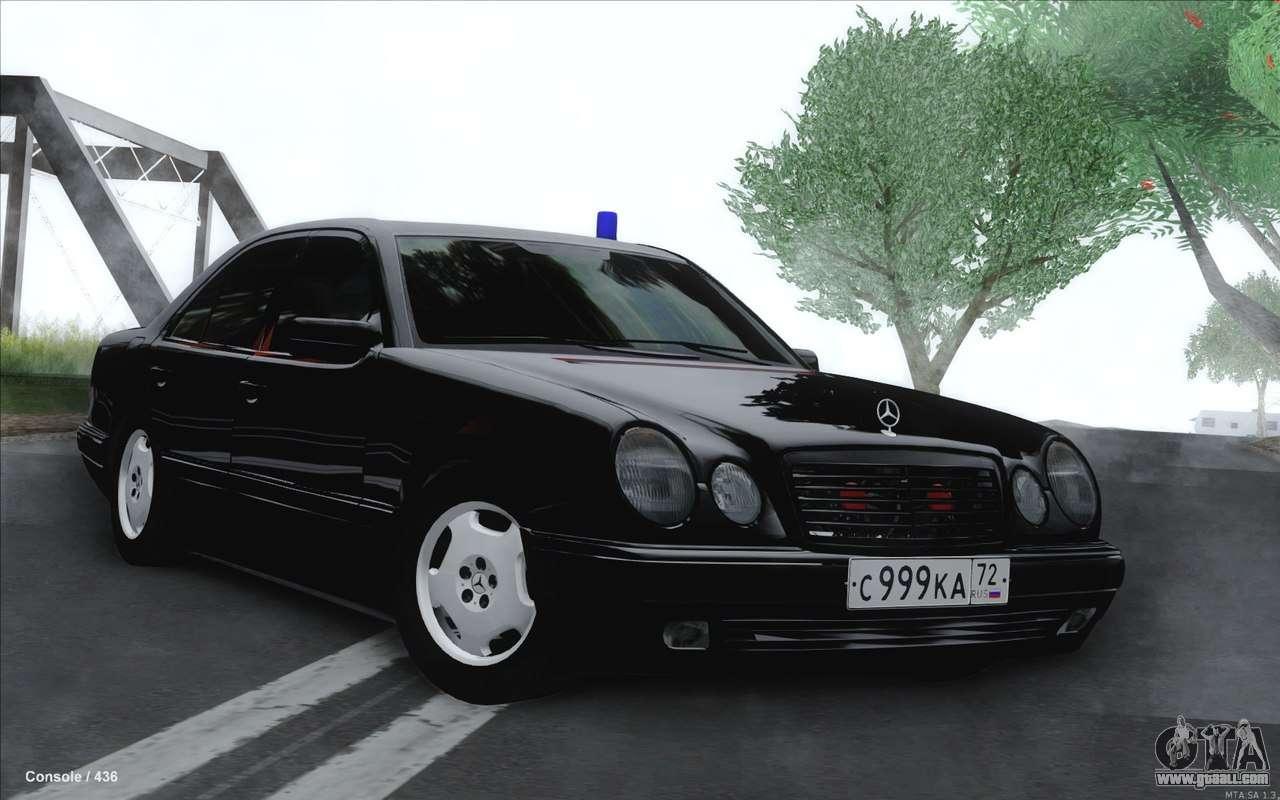 Mercedes E420 Mods
