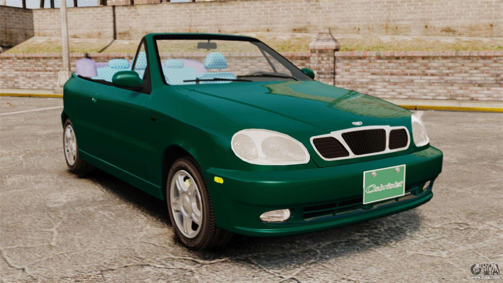 daewoo lanos 1997 cabriolet concept v2 for gta 4. Black Bedroom Furniture Sets. Home Design Ideas