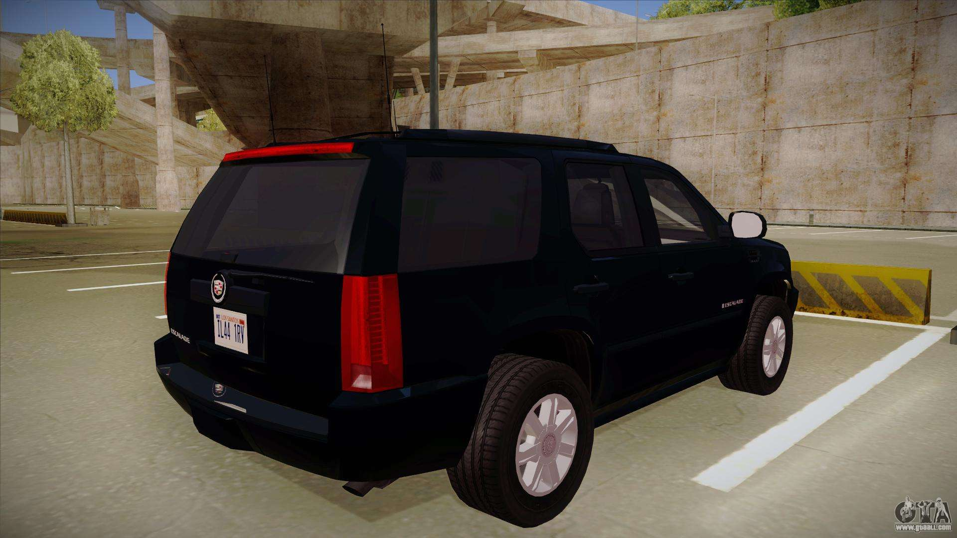 Cadillac Escalade 2011 Unmarked Fbi For Gta San Andreas