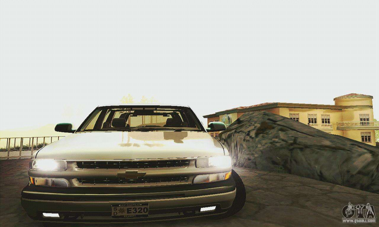 Chevrolet Suburban Lax Airport Police For Gta San Andreas: Chevrolet Suburban SAPD FBI For GTA San Andreas