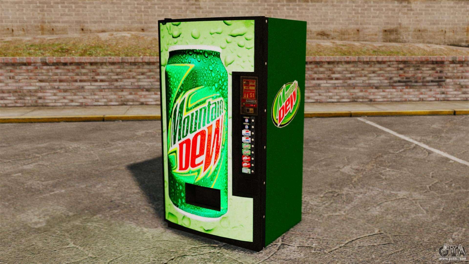 new soda vending machine
