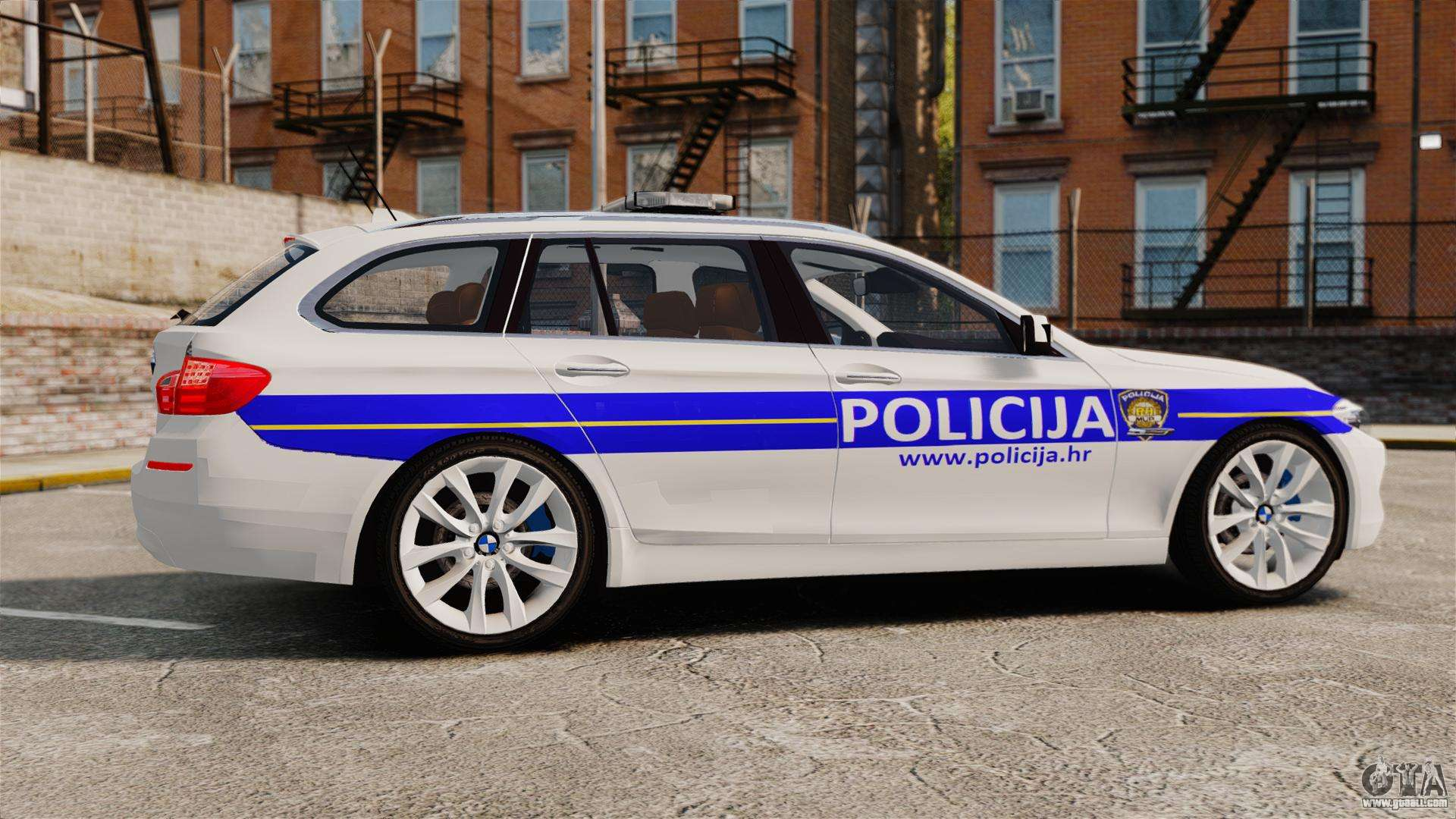 bmw m5 touring croatian police els for gta 4. Black Bedroom Furniture Sets. Home Design Ideas