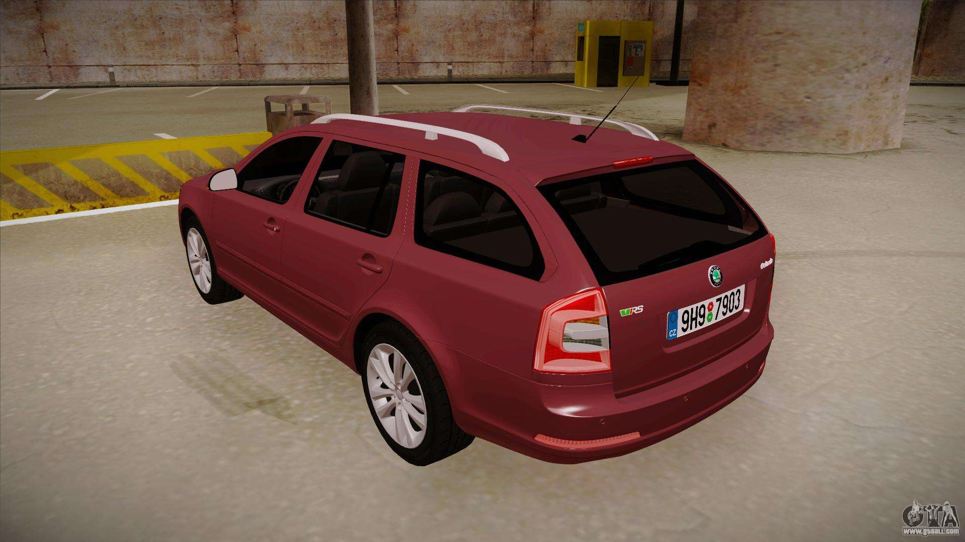 skoda octavia rs 2010 combi for gta san andreas. Black Bedroom Furniture Sets. Home Design Ideas