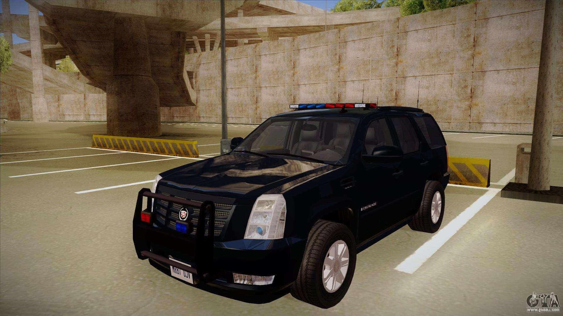 Cadillac Escalade 2011 FBI for GTA San Andreas