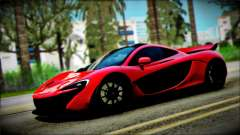McLaren P1 2014 for GTA San Andreas