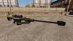 The Barrett M82 sniper rifle v7 for GTA 4