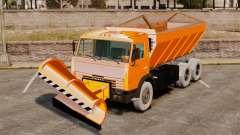 KAMAZ 53215 snow blower