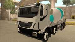 Hi-Land Concrete Mixer Truck Iveco for GTA San Andreas