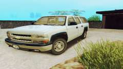 Chevrolet Suburban SAPD FBI for GTA San Andreas