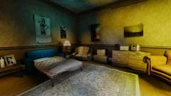 New textures in the first apartment of the novel