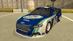 Ford Fusion NASCAR No. 2 Miller Lite for GTA San Andreas
