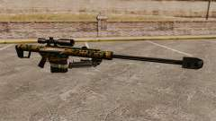 The Barrett M82 sniper rifle v13 for GTA 4