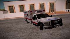 Ford F350 Super Duty San Andreas Emerency Medica for GTA San Andreas