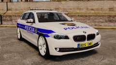 BMW M5 Touring Croatian Police [ELS] for GTA 4