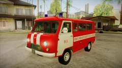 UAZ 452 Firefighter headquarters SA for GTA San Andreas