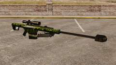 The Barrett M82 sniper rifle v4 for GTA 4