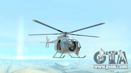 Buzzard Attack Chopper for GTA San Andreas