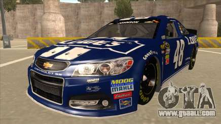 Chevrolet SS NASCAR No. 48 Lowes blue for GTA San Andreas
