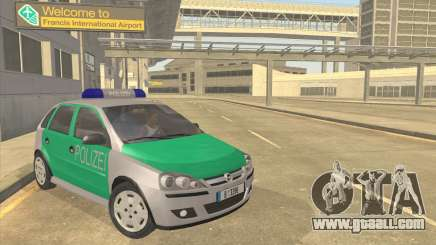 Opel Corsa 1.2 200516V Polizei for GTA San Andreas