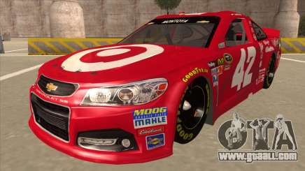 Chevrolet SS NASCAR No. 42 Clorox for GTA San Andreas