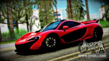 McLaren P1 2014 for GTA San Andreas