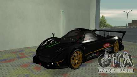 Pagani Zonda R SPS for GTA San Andreas