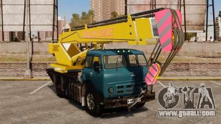 MAZ KS3577-4-1 Ivanovets for GTA 4