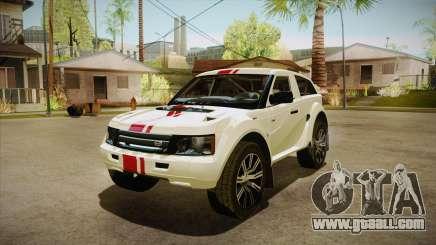 Bowler EXR S 2012 HQLM for GTA San Andreas