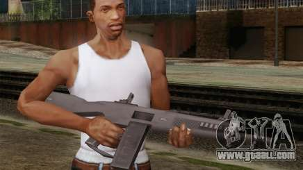 The AA-12 shotgun for GTA San Andreas