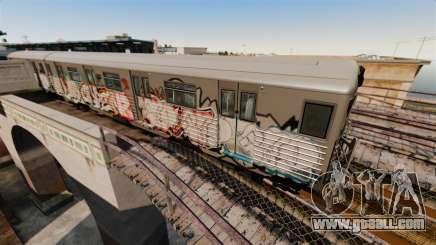 New graffiti on the Subway v2 for GTA 4
